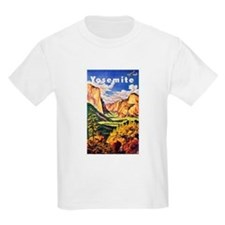 Yosemite Travel Poster 2 T-Shirt