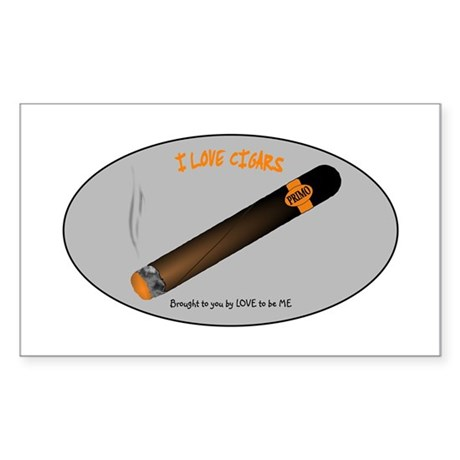 CIGAR Sticker (Rectangle)