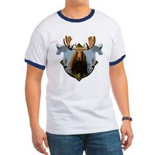 Moose,Mountain goats T