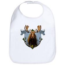 Moose,Mountain goats Bib