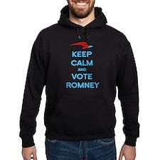 Keep Calm Vote Romney Hoodie