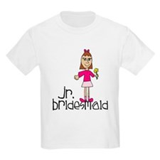 Jr. Bridesmaid (Pink) T-Shirt