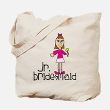 Jr. Bridesmaid (Pink) Tote Bag