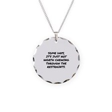 Chewing Through The Restraints Necklace