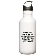 Chewing Through The Restraints Sports Water Bottle