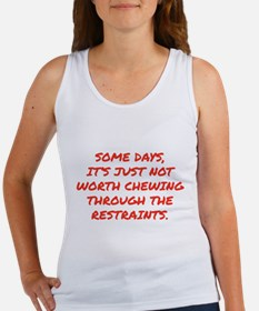 Chewing Through The Restraints Women's Tank Top