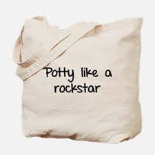 Potty like a rockstar Tote Bag