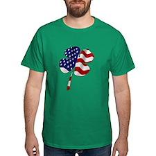 Boston Irish American Clover T-shirt