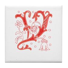 """Tree """"Y"""" Tile Coaster"""