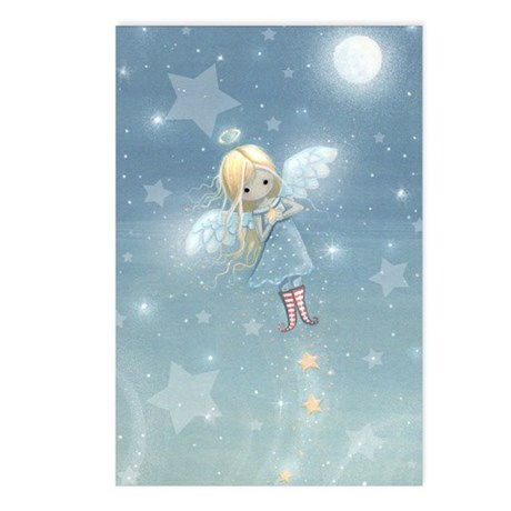 Little Star Angel Postcards (Package of 8)