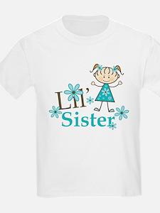Little Sister Stick Figure T-Shirt