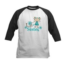 Little Sister Stick Figure Tee