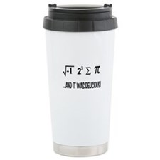 I Ate Some Pie Travel Coffee Mug