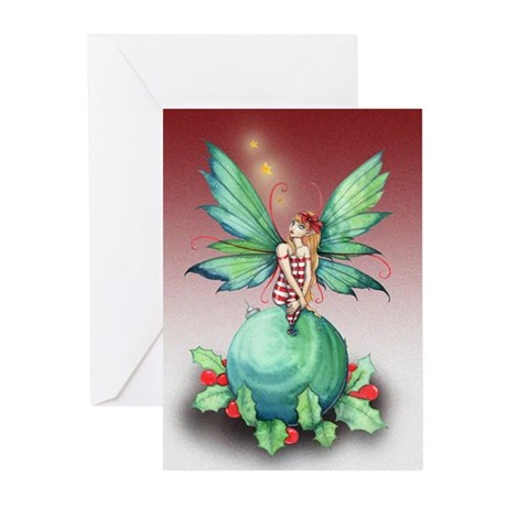 Little Christmas Fairy Greeting Cards (Pk of 10)