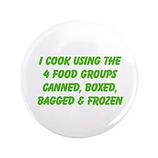 "I Cook Merchandise 3.5"" Button"