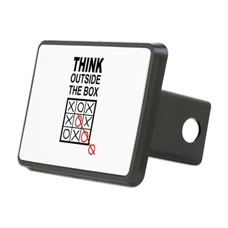 Think Outside the Box Rectangular Hitch Cover