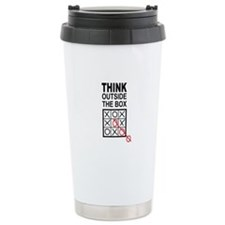 Think Outside the Box Travel Coffee Mug