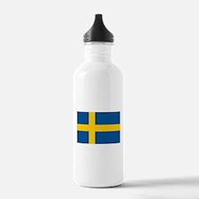 Flag of Sweden Water Bottle