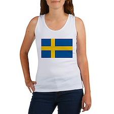 Flag of Sweden Women's Tank Top