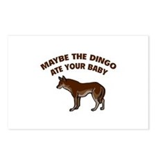 Maybe the dingo ate your baby Postcards (Package o