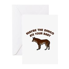 Maybe the dingo ate your baby Greeting Cards (Pk o