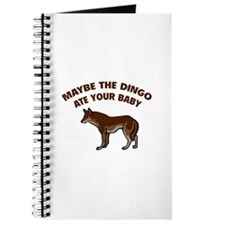 Maybe the dingo ate your baby Journal
