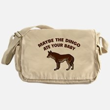 Maybe the dingo ate your baby Messenger Bag