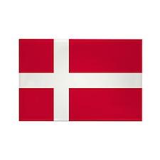 Flag of Denmark Rectangle Magnet