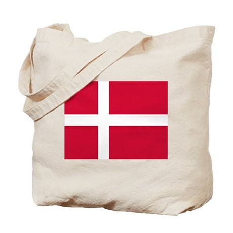 Flag of Denmark Tote Bag