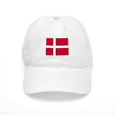 Flag of Denmark Baseball Cap