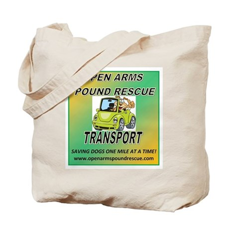 OPEN ARMS POUND RESCUE TRANSPORT Tote Bag