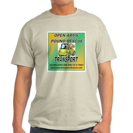 OPEN ARMS POUND RESCUE TRANSPORT Light T-Shirt