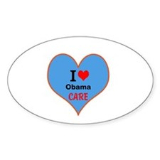 I (heart) ObamaCare Decal