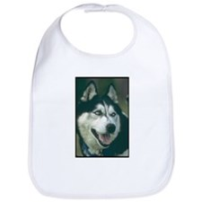Siberian Husky Photo Bib