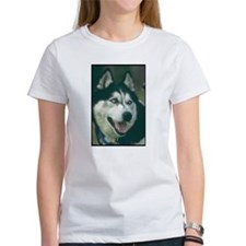 Siberian Husky Photo Tee