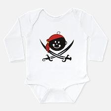 Unique Skull boy Long Sleeve Infant Bodysuit
