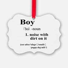 Boy Ornament