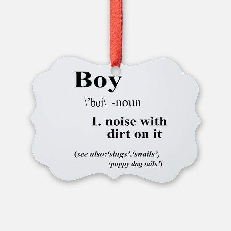 Boy Ornament