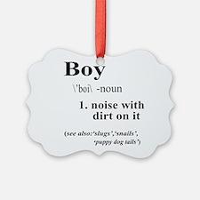 Boy Picture Ornament