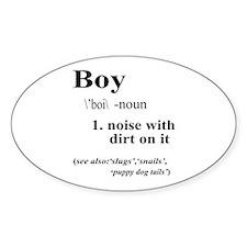 Boy Bumper Stickers