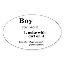 Boy Decal