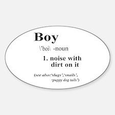 Boy Decal
