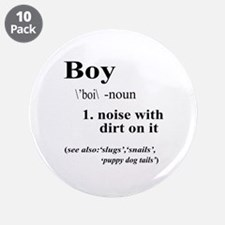 "Boy 3.5"" Button (10 pack)"