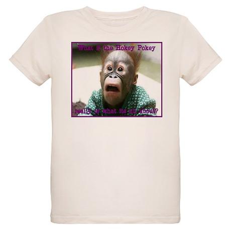 Hokey Pokey Orangutan Organic Kids T-Shirt