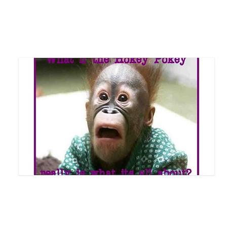 Hokey Pokey Orangutan 35x21 Wall Decal