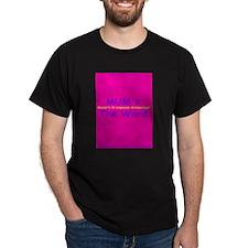 MUM's The Word Black T-Shirt