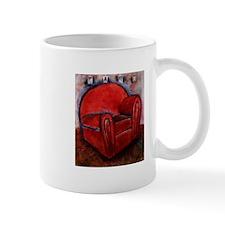 EASY Red by Mick Sharp Small Mug