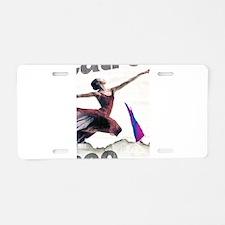 Dance! Aluminum License Plate