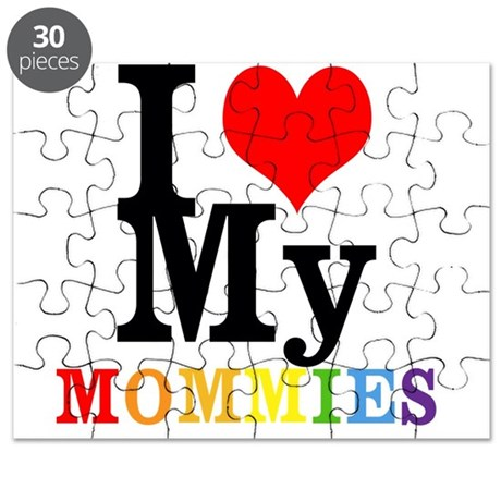 I Love My Mommies Puzzle