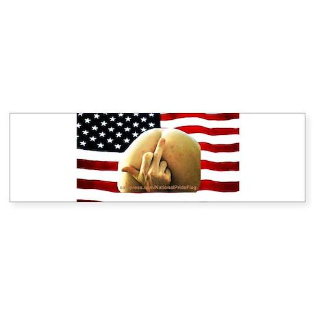 National Pride Flag Sticker (Bumper)